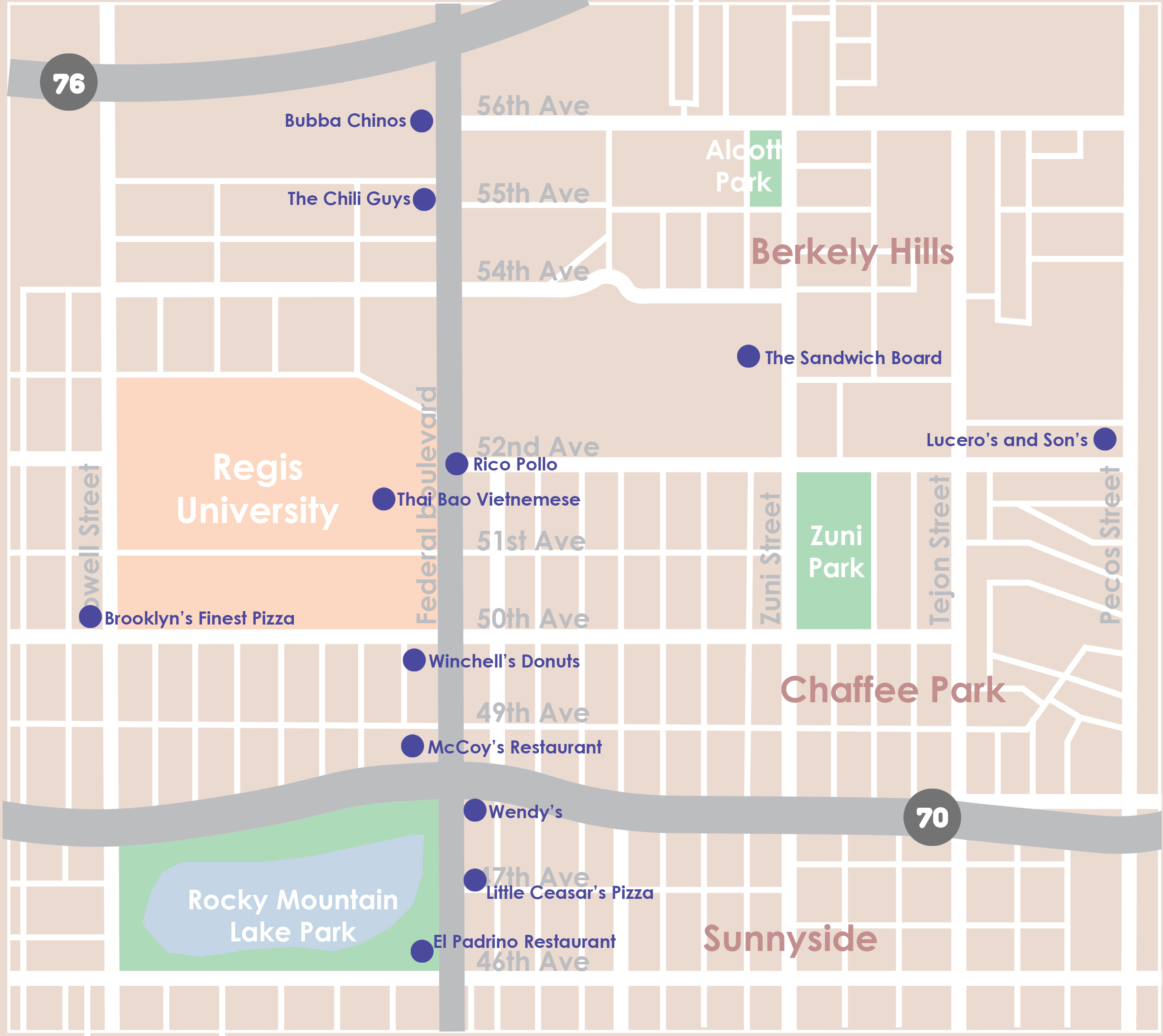 Location – Aria Denver on food delivery nearby, attractions nearby, parks nearby, japanese gardens nearby, cafes nearby,