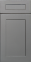 Gray Shaker Door