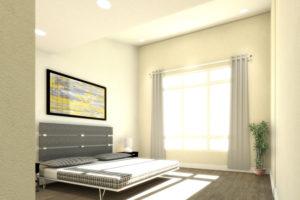 Rowhomes Master Bedroom